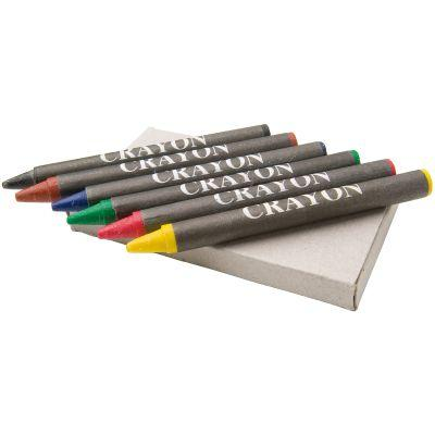 Image of 6 piece crayon set