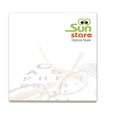 Image of BIC® 75 mm x 75 mm 50 Sheet Recycled Adhesive Notepads